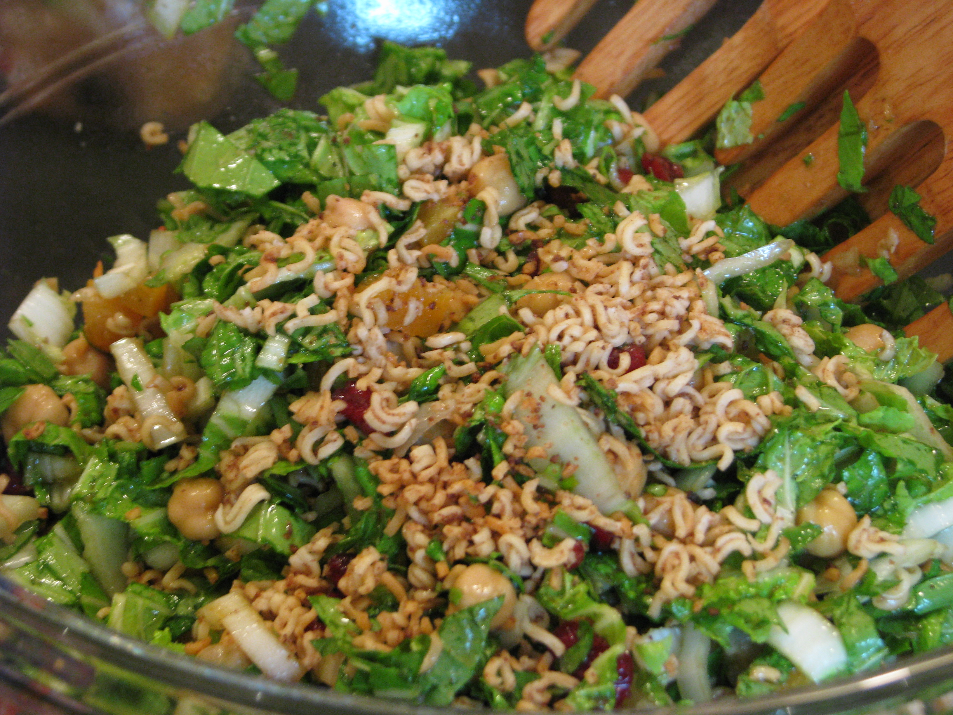 Chopped Napa Cabbage Salad in Sesame Maple dressing | lemmon twist