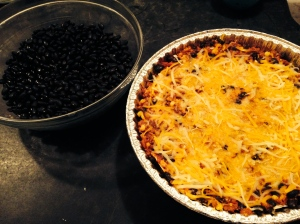 Tortilla Pie with Everblossom Black Beans